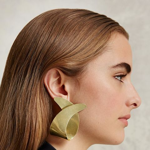 Large Curve Earrings