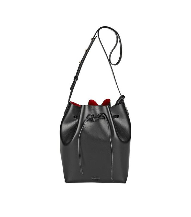 Mansur Gavriel Leather Bucket Bag
