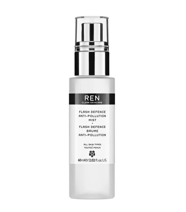 Anti pollution skincare: REN Flash Defence Anti-Pollution Mist