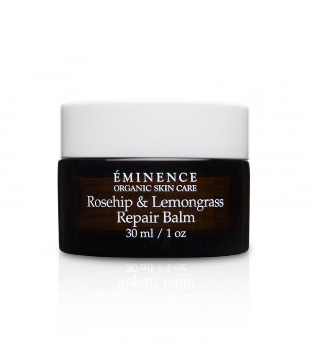 Anti pollution skincare: Éminence Organic Rosehip & Lemongrass Repair Balm
