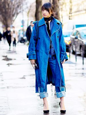 The Subtle Way to Wear Denim-on-Denim Is Here