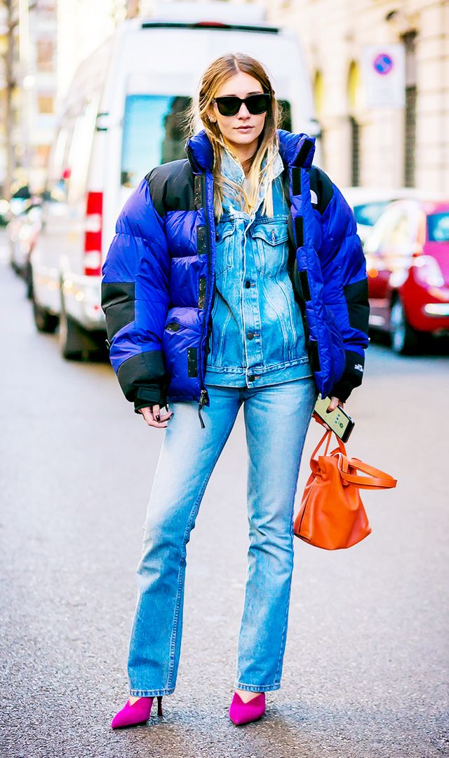 best denim on denim outfits
