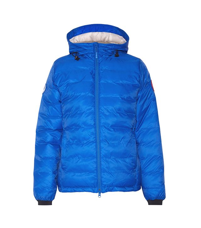 Camp Hooded Quilted Shell Down Jacket
