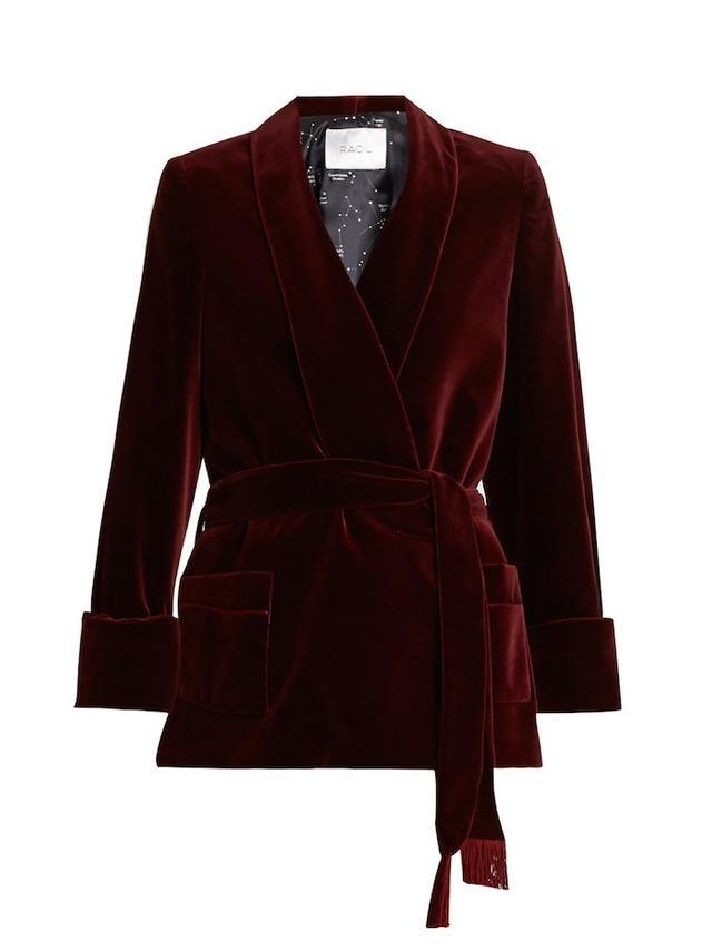 Racil Orion Cotton-Blend Velvet Jacket