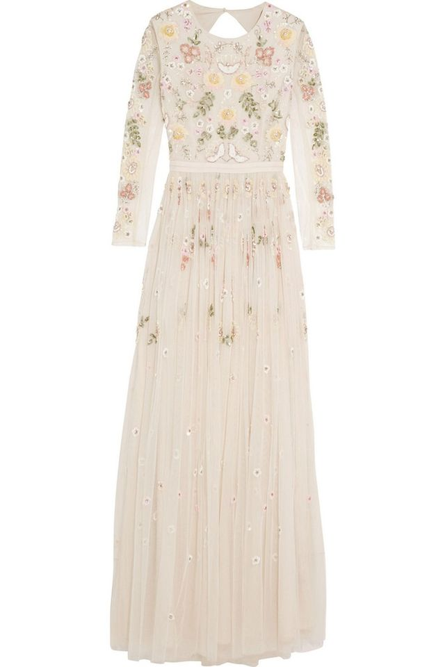 The Needle and Thread Embellished Tulle Gown