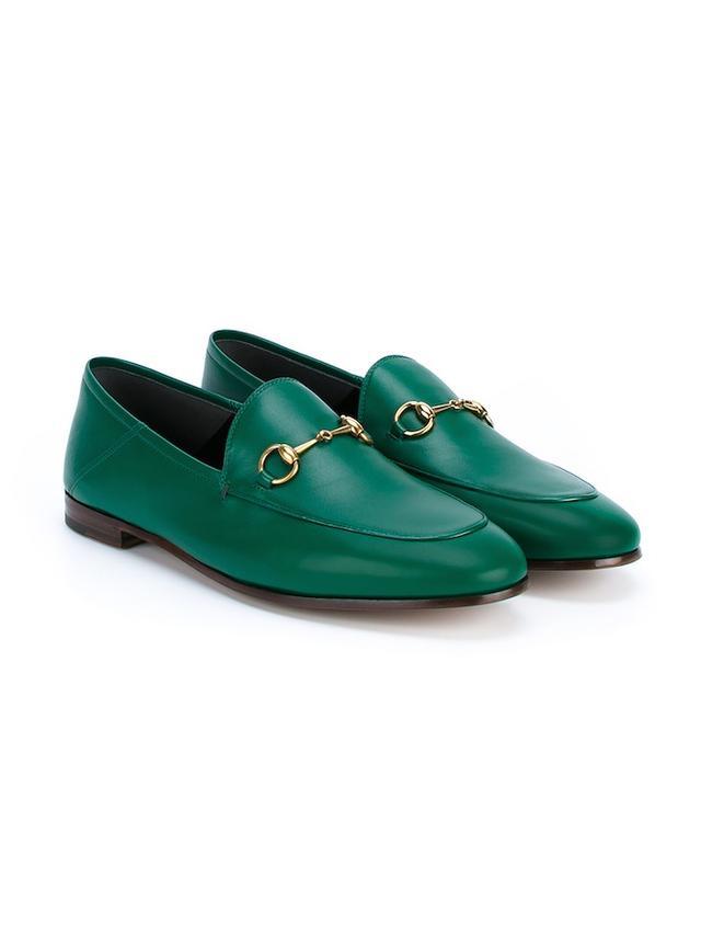 Gucci Jordaan Horsebit Loafers
