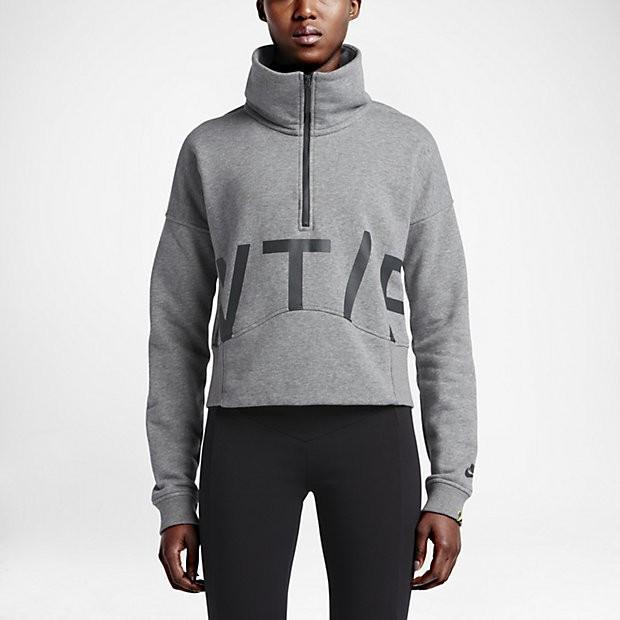 Nike Track and Field Fleece Half-Zip