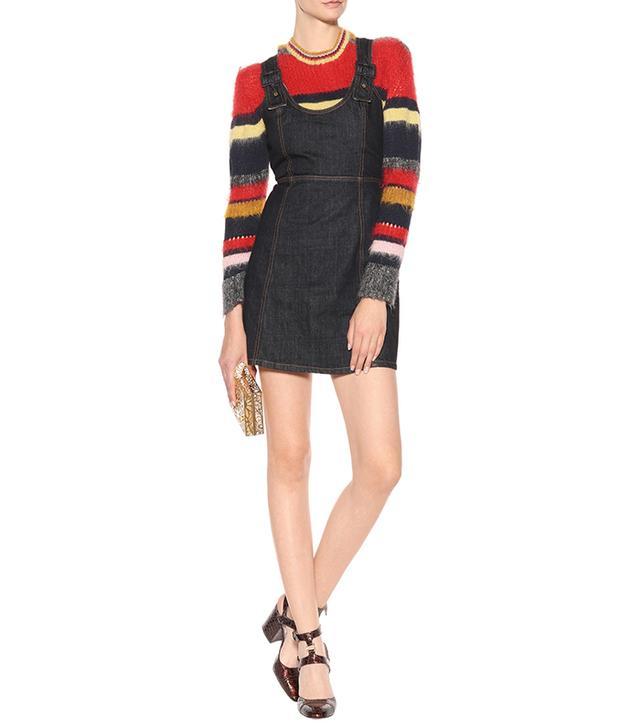 Alexa Chung Denim mini dress