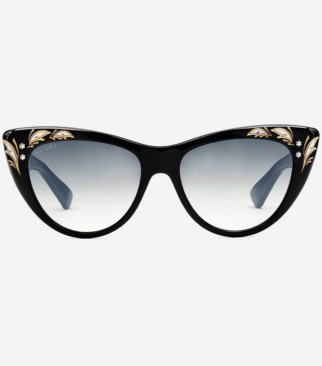 Gucci Oversize Cat Eye Sunglasses