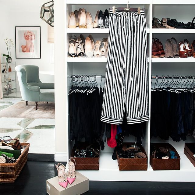The One Rule to Stay Organized With Limited Closet Space