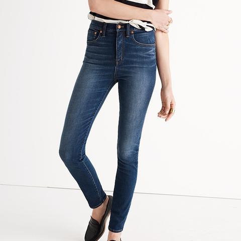 Extra-High Skinny Jeans in Topanga Wash