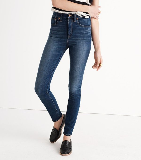 Rivet & Thread Extra-High Skinny Jeans in Topanga Wash