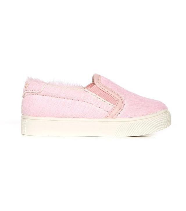 pink slip ons for kids