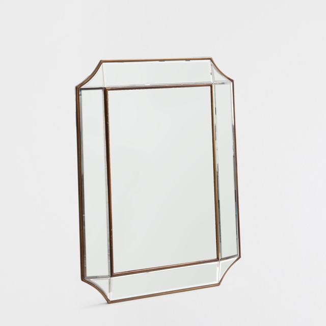 Zara Home Dark Golden Mirror
