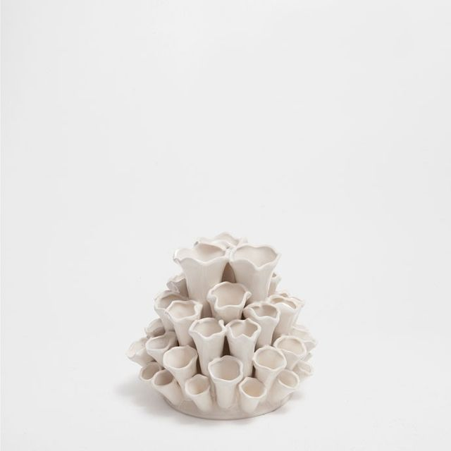 Zara Home Marine-Shape Ceramic Vase