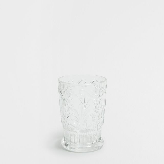 Zara Home Cut Glass Water Tumbler