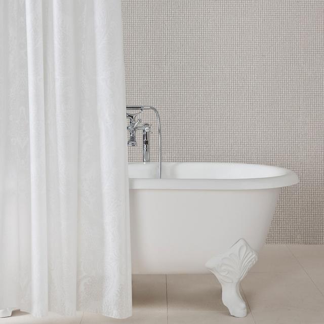 Zara Home Paisley Shower Curtain