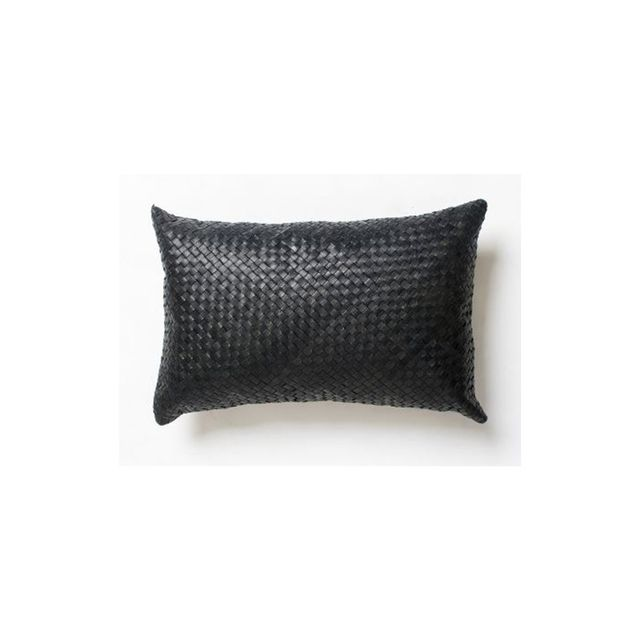 Barnaby Lane Woven Leather Cushion