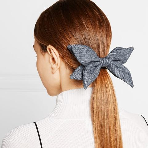 Abigail Wool-Twill Hairclip