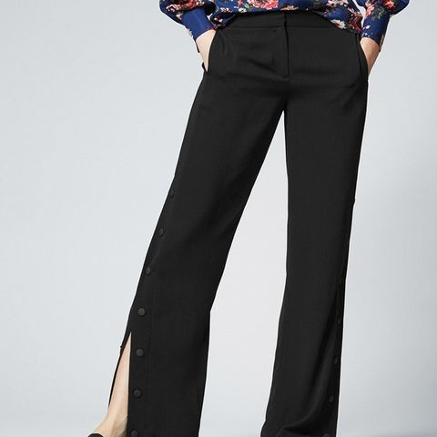 Popper Side Trousers