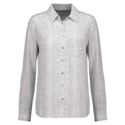 Brett Snake-Print Shirt