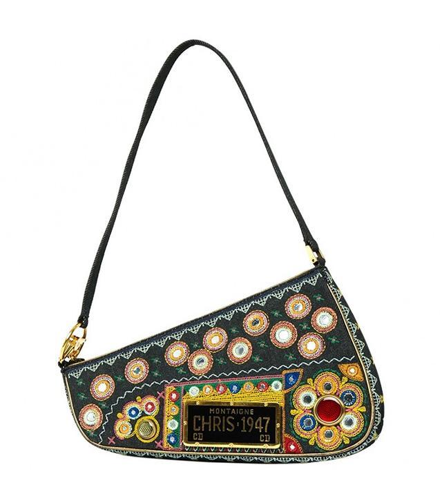 Dior Vintage Muticolour Cotton Bag