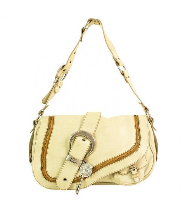 Dior Vintage Leather Handbag