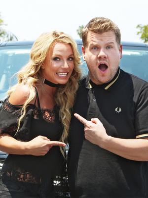 """Britney Spears Resurrected Her Schoolgirl Costume for """"Carpool Karaoke"""""""