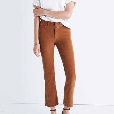 Cali-Demi Boot Jeans in Corduroy