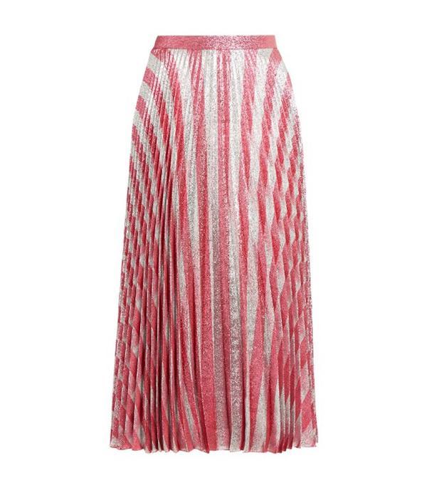 Gucci Jacquard Midi Skirt