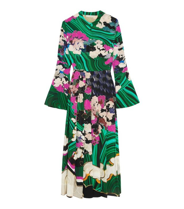 Mary Katrantzou Desmine Printed Silk Dress