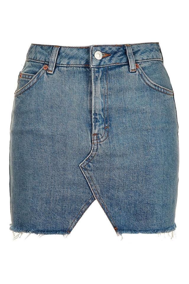Topshop MOTO Mullet Pelment Skirt