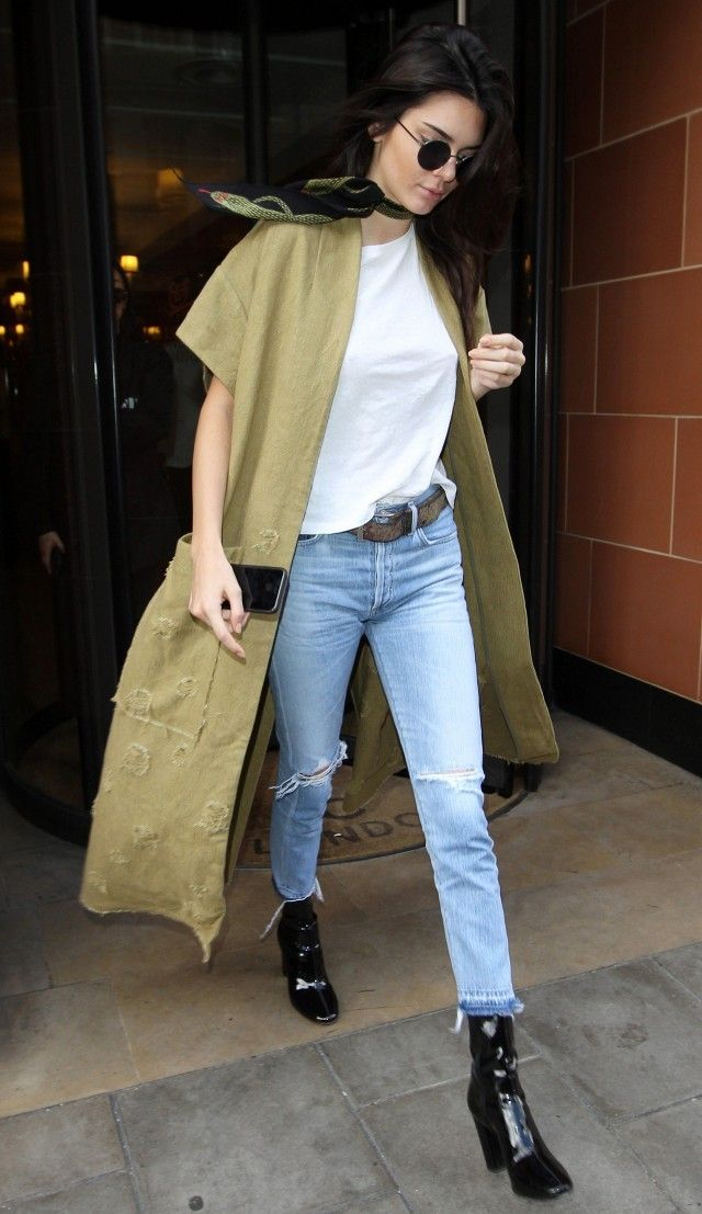 Kendall Jenner Wore These Ankle Boots With 5 Totally