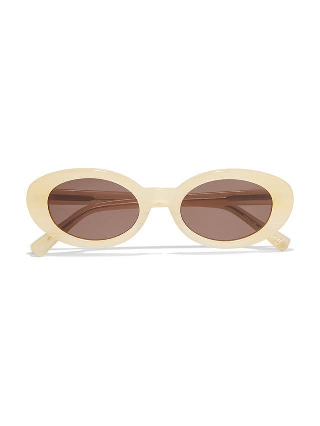 Elizabeth and James McKinley Round-Frame Acetate Sunglasses
