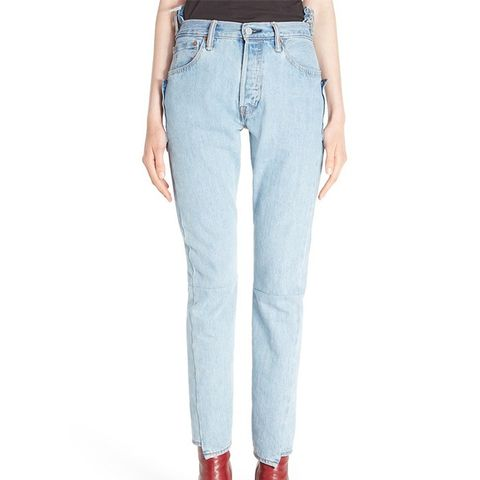 Reworked High Waist Jeans