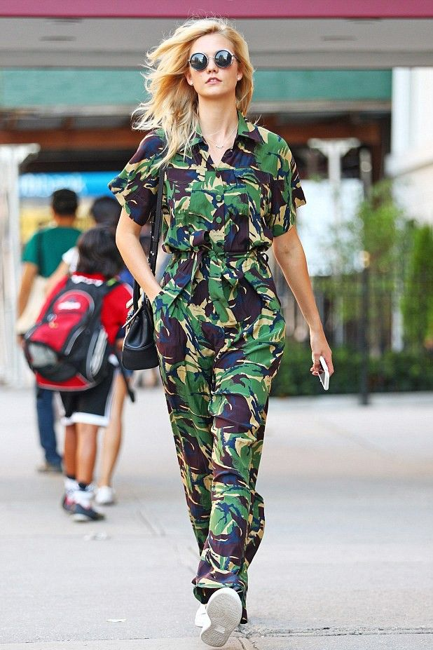 Karlie Kloss Off-White Jumpsuit