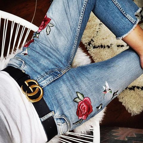 gucci 3cm belt. the unexpected gucci item blowing up in blogger world 3cm belt