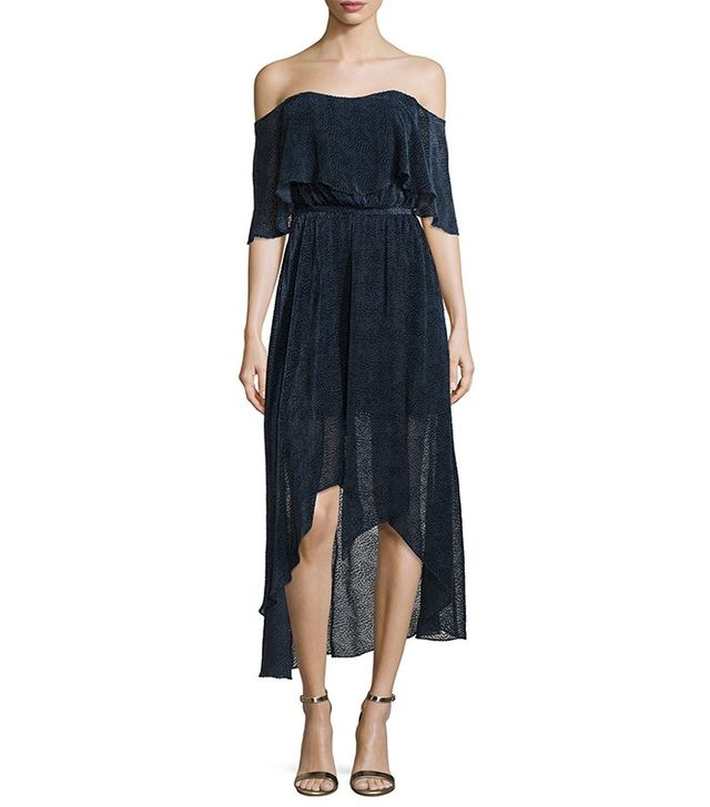 Camilla and Marc Draped Cocktail Dress