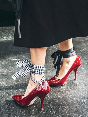 Would You Wear Red Patent Leather Pumps?