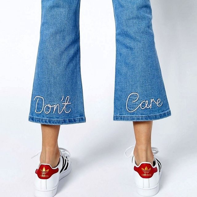 Shop the Cheeky Embroidered Jeans Our Editors Love