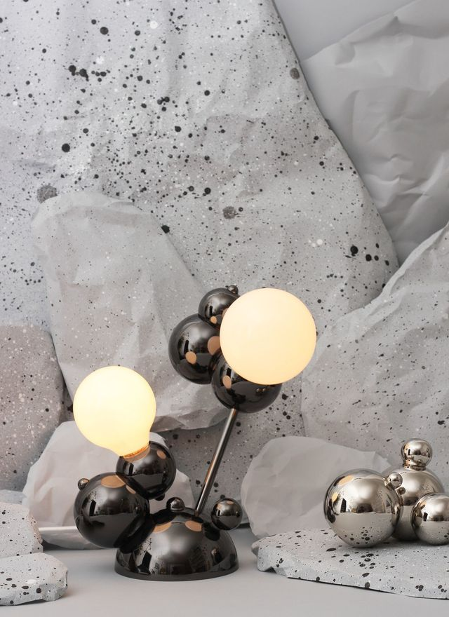 Rosie Li Bubble 02-Light Table Lamp