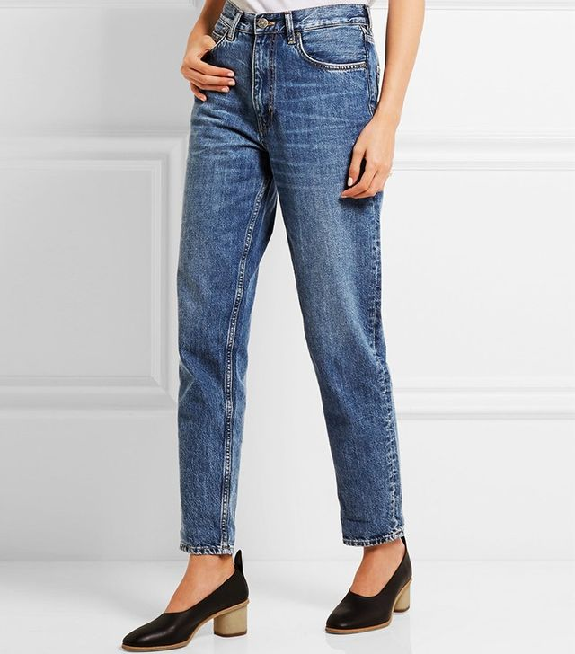 M.i.h Jeans Linda High-Rise Straight-Leg Jeans