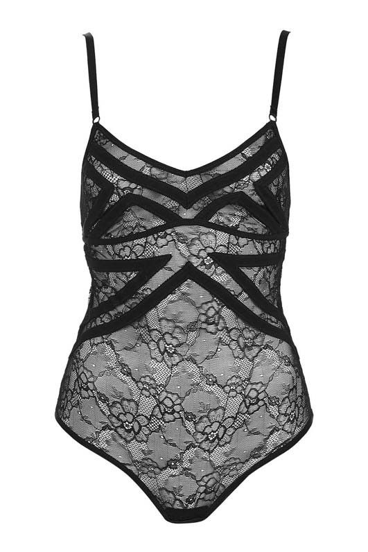 Topshop Art Deco Body by Thistle & Spin Bodysuit