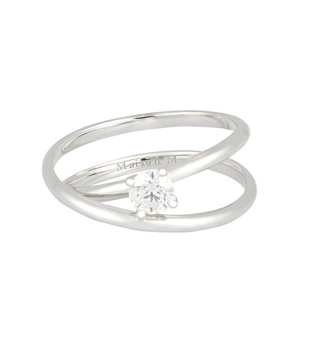 Maison Margiela Solitaire Twisted Ring