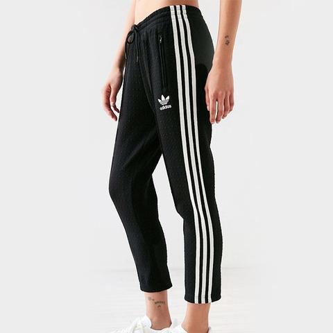 Diamond Jacquard Track Pants