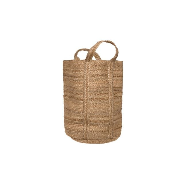 Freedom Jute Braid Hamper in Natural