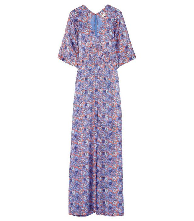 Tory Burch Corrie Printed Maxi Dress