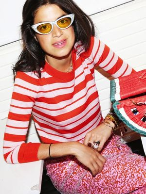 J.Crew Challenged Leandra Medine to Wear Pink for a Week