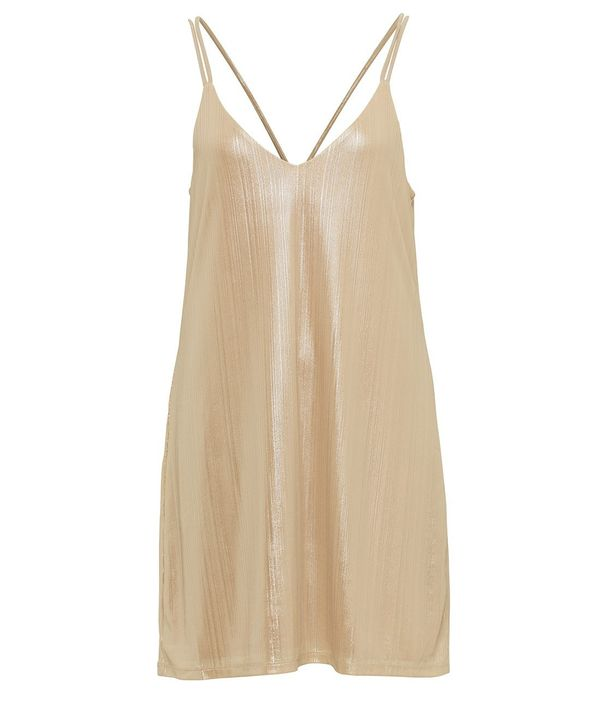 H&M Long Satin Dress