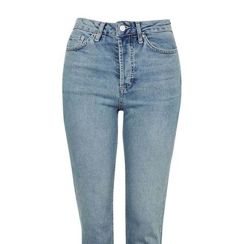 Step Hem Straight Leg Jeans